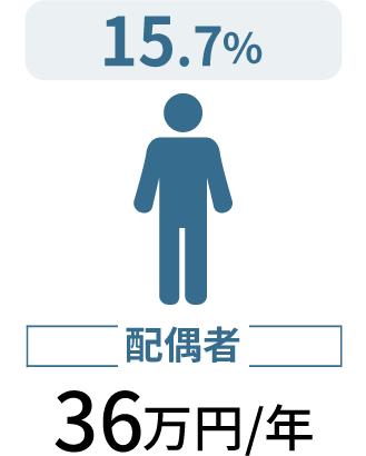 配偶者36万円/年